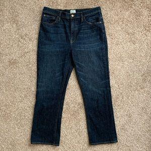 J Crew High Waisted Billie Demi Boot Crop Jeans